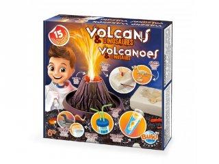 Vulkánok és dínók, Buki tudományos kísérletező játék (8-14 év)