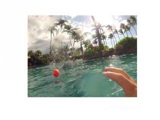 Waboba Big Kahuna vízen pattanó labda több színben (8,8 cm, 6-99 év)