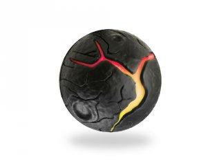 Waboba Lava ball, Láva labda, a színváltós pattanó labda (6,5 cm)