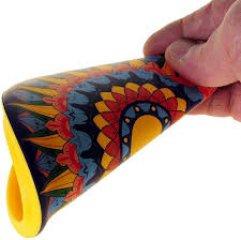Waboba Wingman szilikon frizbi, különböző mintával (átmérő 15 cm)
