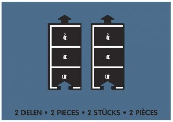 Waytoplay rugalmas autópálya matchbox és más kisautóhoz, 2 db-os építőjáték kiegészítő készlet, Parkoló