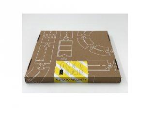 Waytoplay rugalmas autópálya matchbox és más kisautóhoz, 8 db-os építőjáték, Road to Recovery