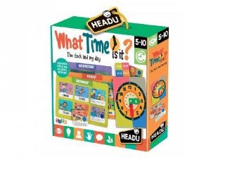 What time is it? angol nyelvtanulást segítő játék (HED, 5-10 év)