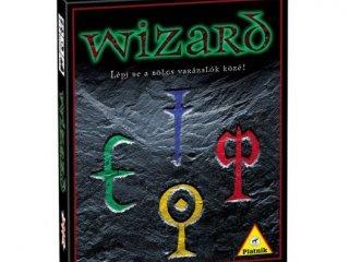 Wizard kártyajáték (Piatnik, családi, logikai-, és taktikai társasjáték, 10-99 év)