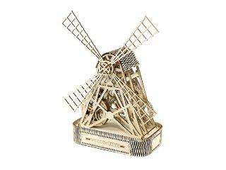 Wooden City Malom mechanikus modell, fa építőjáték