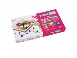 Wooden pixel Mesék, 250 db-os mozaik készlet (4-6 év)