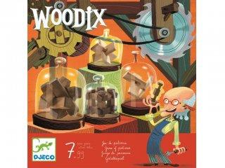 Woodix (Djeco, 8464, 6 db logikai fajáték, 7-99 év)