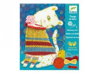 Woolly jumper Djeco varrós kreatív készlet - 9833 (8-14 év)
