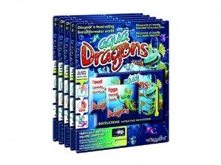 World Alive Aqua Dragons Élőlények, pete és eledel (WA, 4004, víz alatti élővilág, 6-12 év)