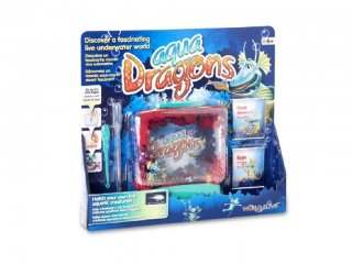 World Alive Aqua Dragons Víz alatti Élővilág díszdobozban (WA, 4001, víz alatti élővilág, 6-12 év)