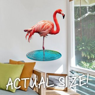 Wow Puzzle Flamingó, 100 db-os formakirakó