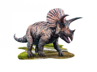 Wow Puzzle Triceratops, 100 db-os dínós formakirakó