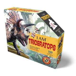 Wow Puzzle Triceratops, 100 db-os dínós formakirakó