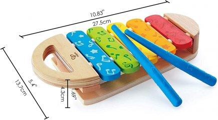 Xilofon, Hape fa játékhangszer (1-5 év)
