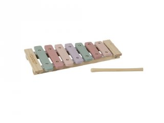 Xilofon, Little Dutch fa játékhangszer, rózsaszín (4410, 3-7 év)