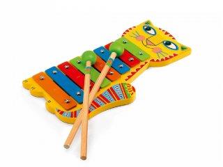 Xylofon, Cicás (Djeco, 6002, Animambo fa hangszer, 1-5 év)