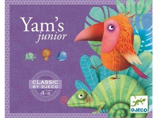 Yams, kockapóker gyerekeknek (Djeco, 5209, családi társasjáték, 4-8 év)