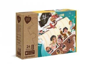 Yo Ho Ho Kalózok maxi kirakó, 24 db-os puzzle (CLEM, 3-6 év)