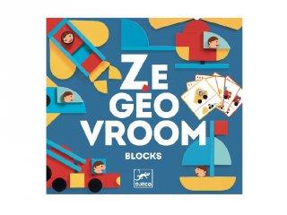Ze Geo Vroum, Djeco mozaikos képkirakó fajáték - 6436 (3-6 év)
