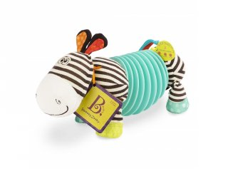 Zebra harmonika, fedező bébijáték