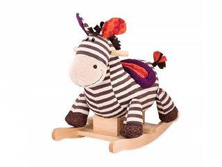 Zebra hintaló, B.Toys - mozgásfejlesztő és szerepjáték (1-5 év)