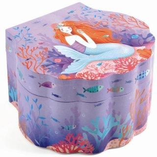 Zenélő ékszerdoboz Enchanted mermaid, Djeco szobai kiegészítő - 6083