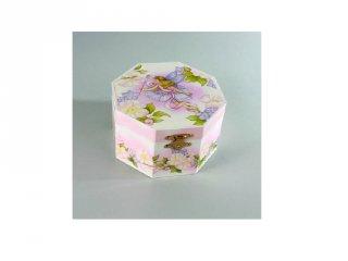 Zenélő ékszerdoboz, Virágok