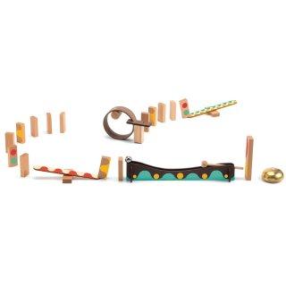 Zig&Go Sokasodó, Djeco 25 db-os logikai építőjáték fából - 5642 (8-13 év)