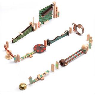 Zig&Go Sokasodó, Djeco 48 db-os logikai építőjáték fából - 5644 (8-13 év)