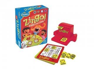 Zingo a Bingó ANGOL verziója (Thinkfun, 7700E, Formafelismerő gyorsasági játék, 3-99 év)