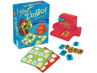 Zingo a Bingó, Hány az óra? (Thinkfun, időmeghatározó gyorsasági játék, 5-99 év)