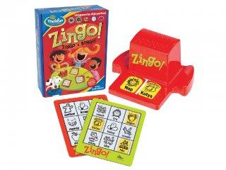Zingo a Bingó (Thinkfun, 7700, Formafelismerő gyorsasági játék, 2-9 év)