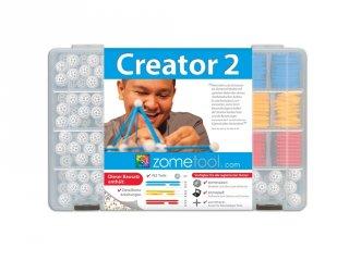 Zometool, Creator 2, haladó készlet (ZT-2-KIT, tudományos építőjáték, 6-99 év)