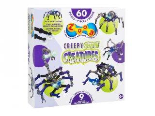 ZOOB építőjáték, Csúszó-mászó teremtmények (14003, 65 db-os kreatív készlet, 5-12 év)