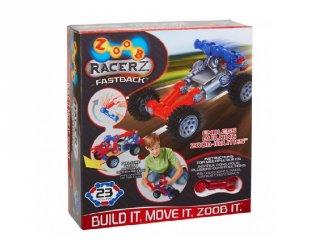 ZOOB építőjáték, Fastback lendkerekes autó (12055, 25 db-os kreatív készlet, 5-12 év)