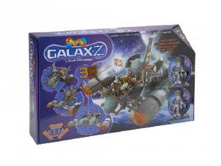ZOOB építőjáték, GALAX-Z Explorer űrhajó (16010, 337 db-os kreatív készlet, 6-12 év)