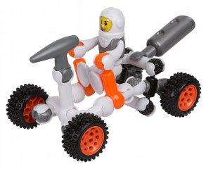 ZOOB építőjáték, GALAX-Z Holdjáró (160210-3, 25 db-os kreatív készlet, 5-12 év)