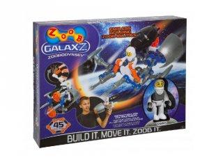 ZOOB építőjáték, GALAX-Z Odüsszea (160220-3, 45 db-os kreatív készlet, 5-12 év)
