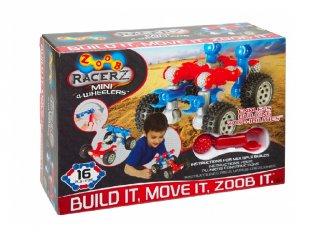 ZOOB építőjáték, Mini járgány (12050, 16 db-os kreatív készlet, 5-12 év)