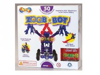 ZOOB építőjáték, Robot szörnyecske (14001, 55 db-os kreatív készlet, 5-12 év)