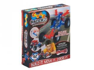 ZOOB építőjáték, Speedsters versenyautó (12051, 42 db-os kreatív készlet, 5-12 év)