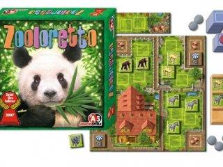 Zooloretto (családi, állatkertépítős, taktikai társasjáték, 8-99 év)