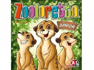 Zooloretto junior (Abacusspiele, családi, állatkertépítős, taktikai társasjáték, 7-99 év)