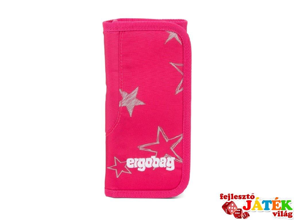 Kihajtós tolltartó Wrap, Ergobag iskolaszer, rózsaszín (6-14 év, töltetlen)