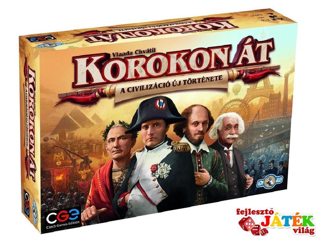 Korokon át (Czech Games Edition, stratégiai társasjáték, 14-99 év)