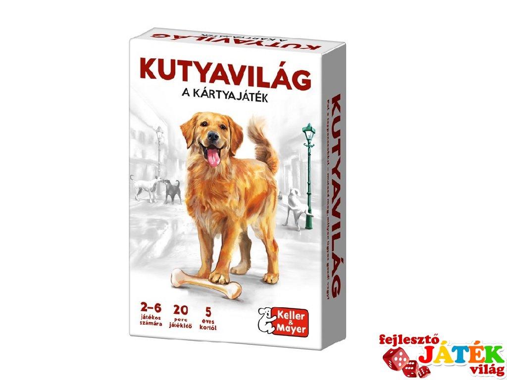 Kutyavilág kártyajáték, Keller & Mayer társasjáték (5-12 év)