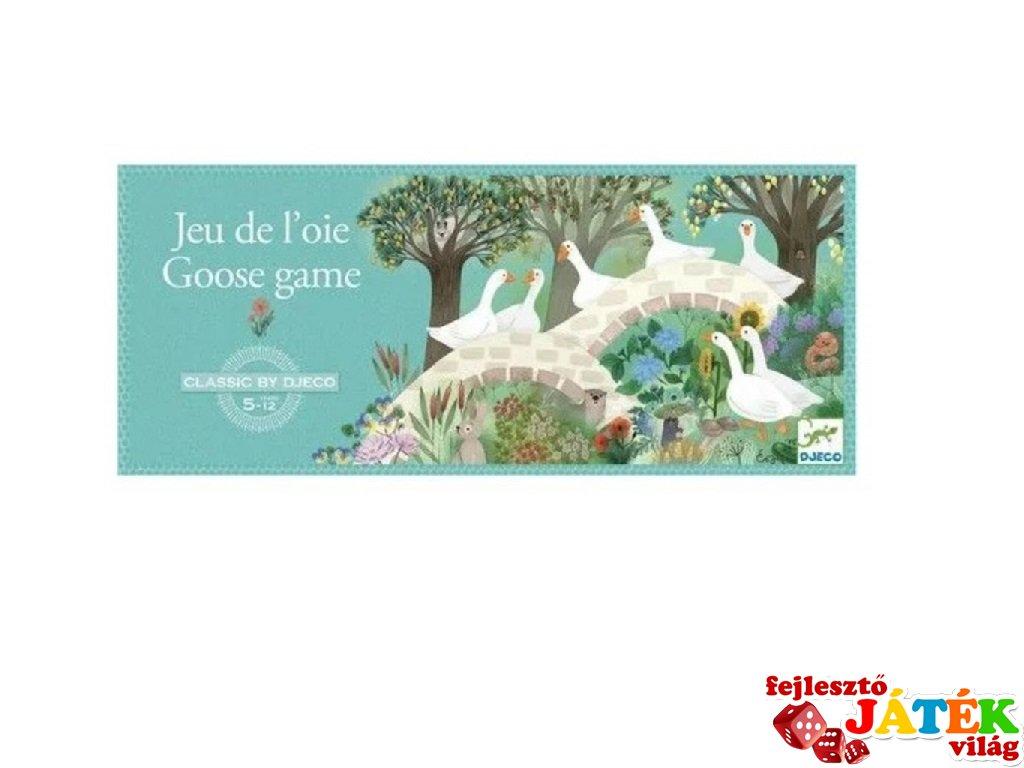 Liba játék Goose game, Djeco klasszikus társasjáték - 5232 (5-12 év)