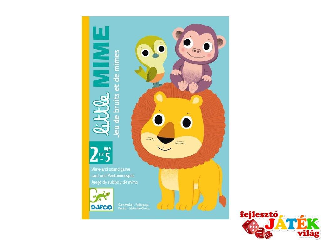 Little Mime, Djeco dramatizációs kártyajáték - 5063 (2-5 év)