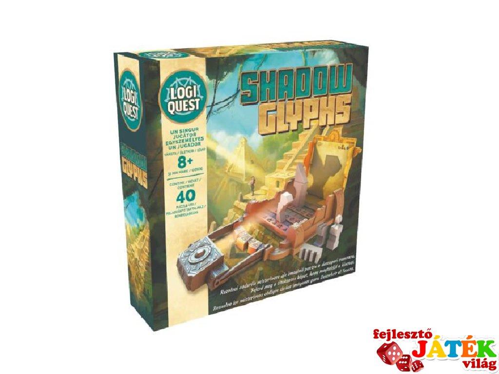 Logiquest Shadow Glyphs, egyszemélyes logikai játék (8-99 év)