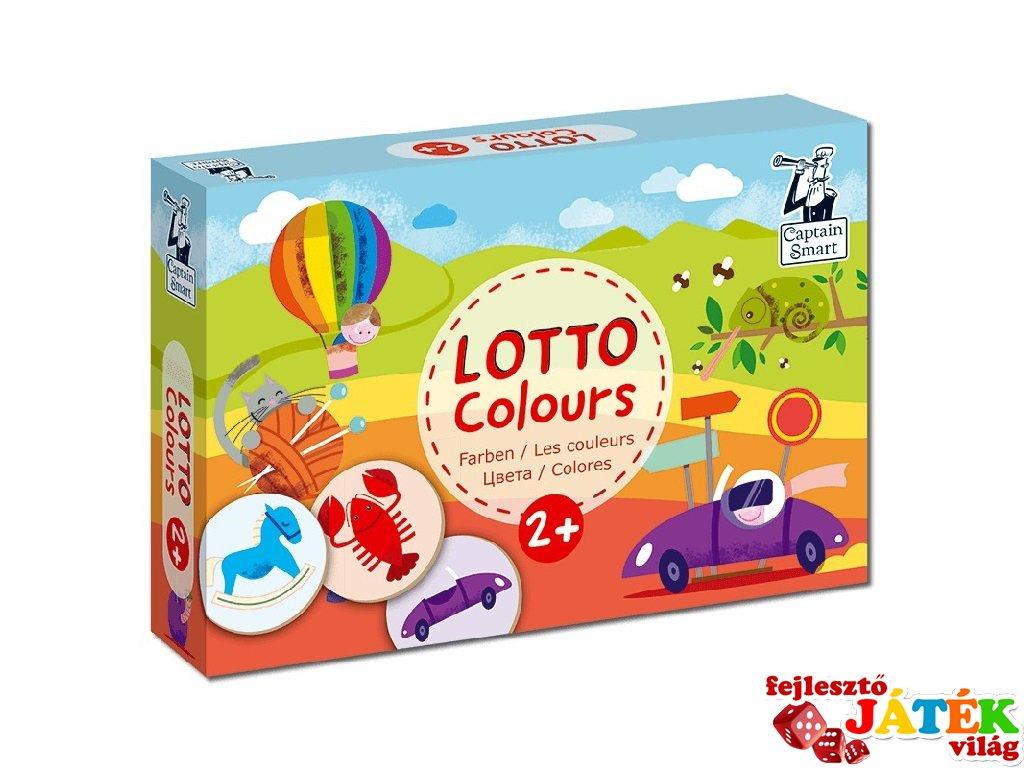 Lottó játék színek, Captain Smart készségfejlesztő játék (2-4 év)